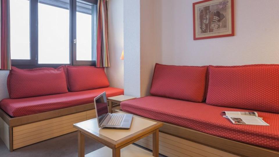 Living Area, Residence Le Chamois Blanc, Chamonix, France