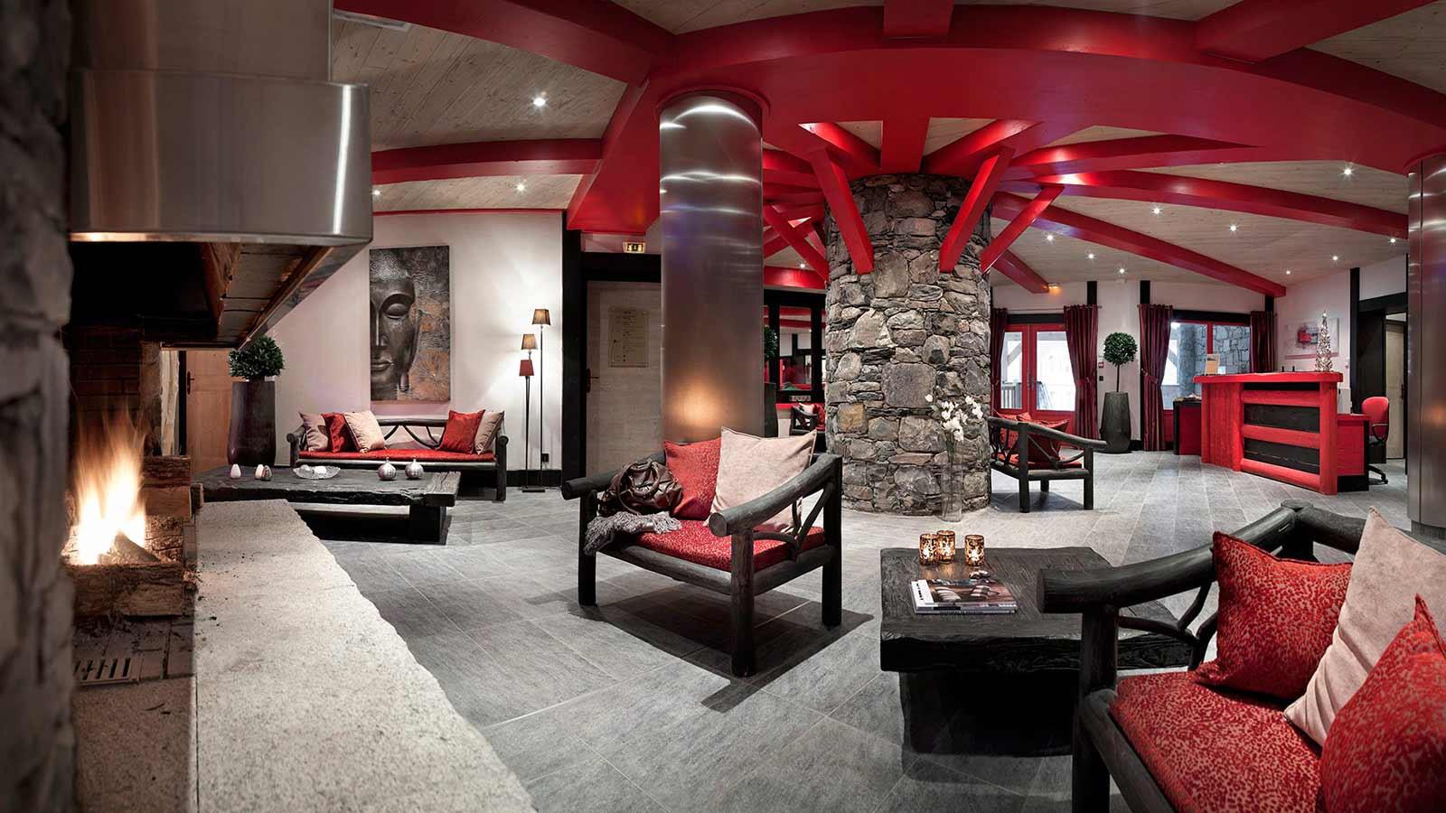 Lobby, Le Telemark, Tignes, France