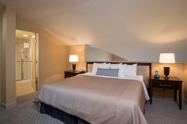 Crystal Lodge, Whistler, Canada, Loft Suite Bedroom