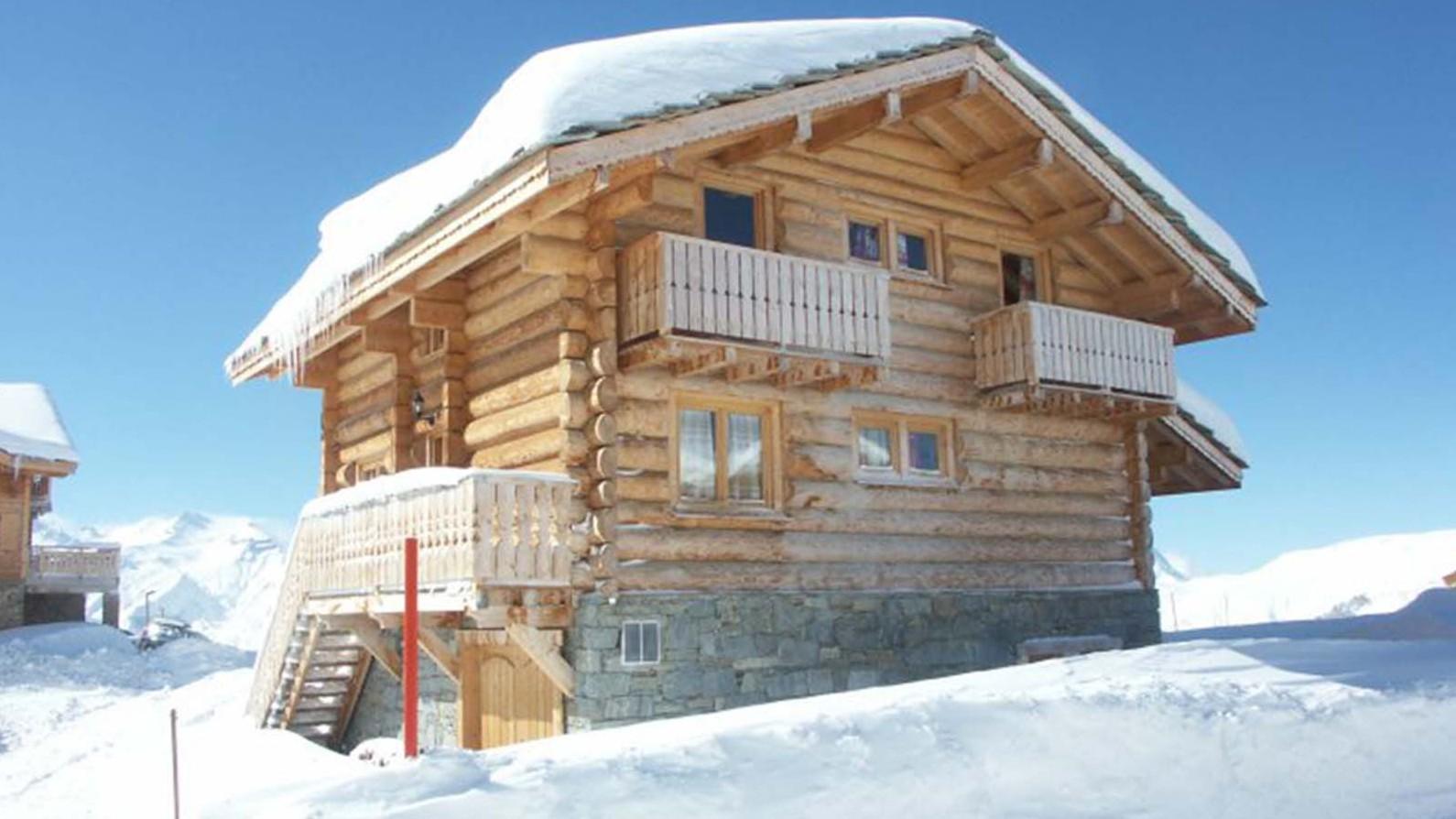 Exterior - Chalet Louisa - Ski Chalet in Alpe d'Huez, France
