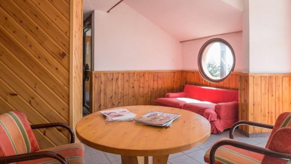 Lounge Area, Residence Les Horizons d'Huez, Alpe d'Huez, France