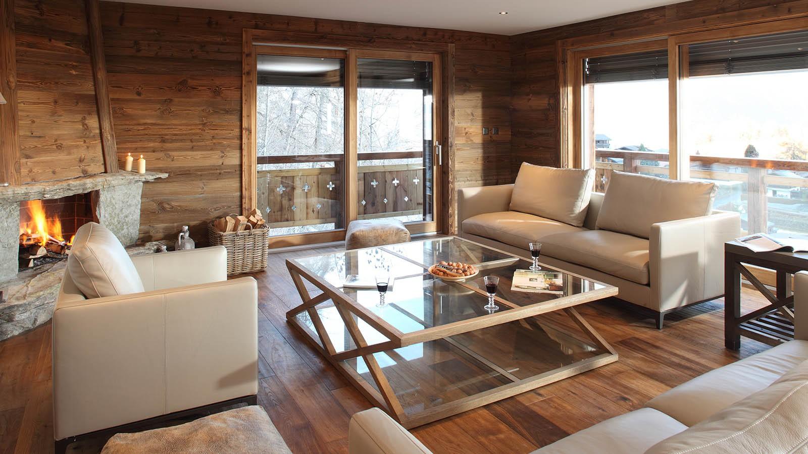 Lounge, Chalet Rosablanche - Ski Chalet in Nendaz, Switzerland