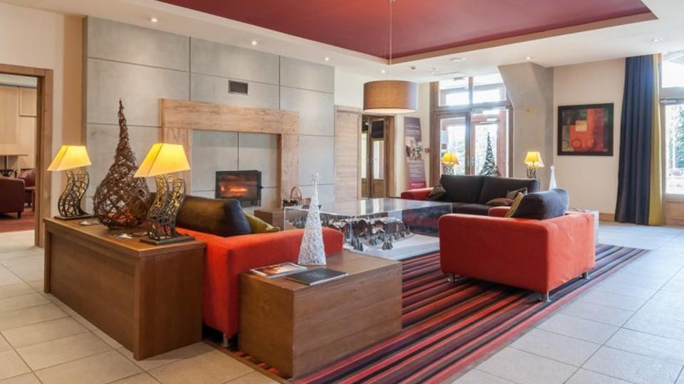 Lounge Area, Residence Les Terraces d'Eos, Flaine, France