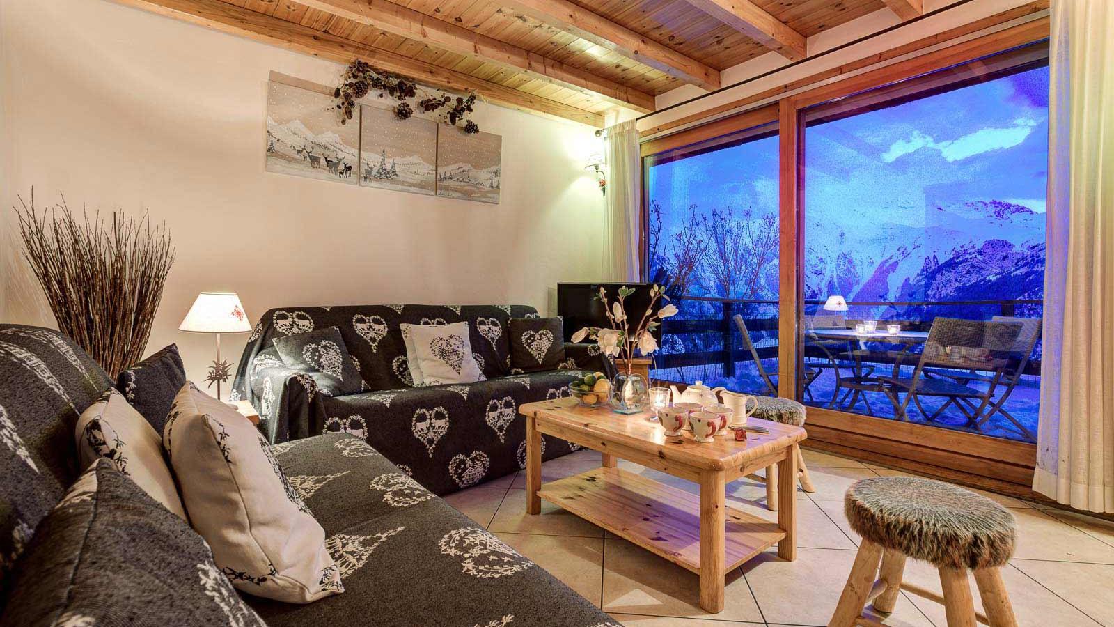 Lounge - Chalet Gorges, Les Deux Alpes - Twilight