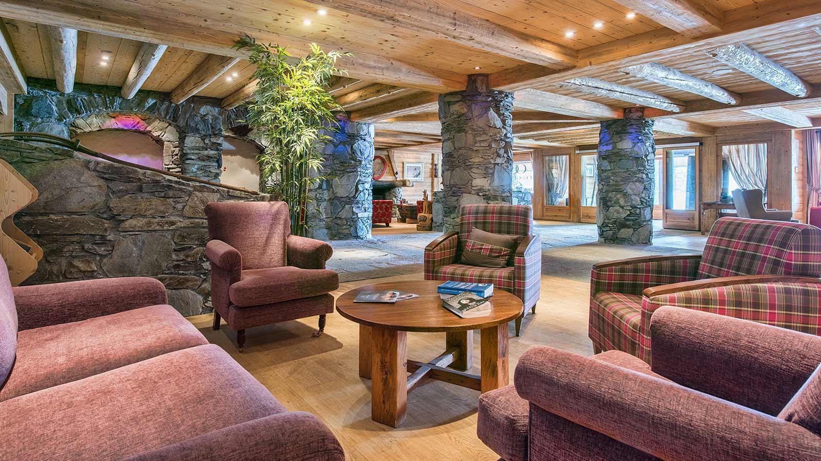 Lounge - Les Cimes Blanches, La Rosiere, France