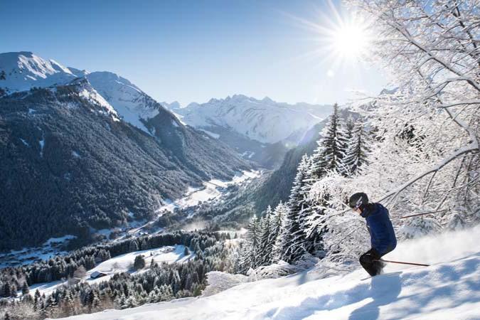 Morzine Ski Resort, France, Off Piste Skiing