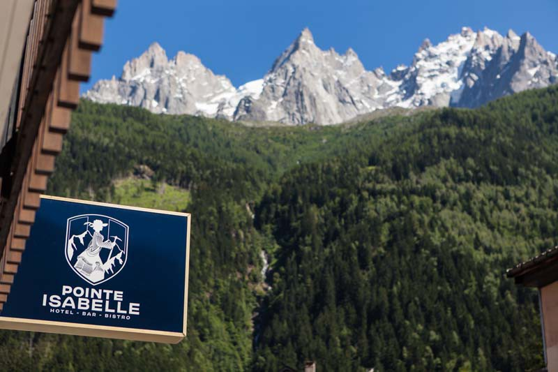 Exterior of Hotel Pointe Isabelle - Hotel in Chamonix, France