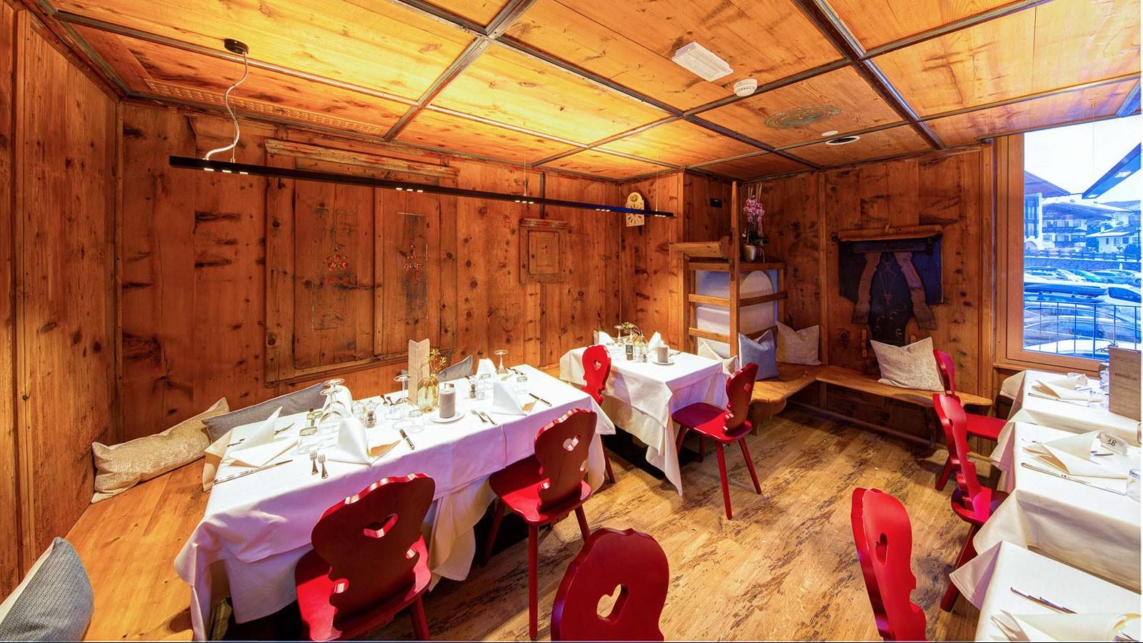 Mountain Design Hotel Eden Selva- Dining