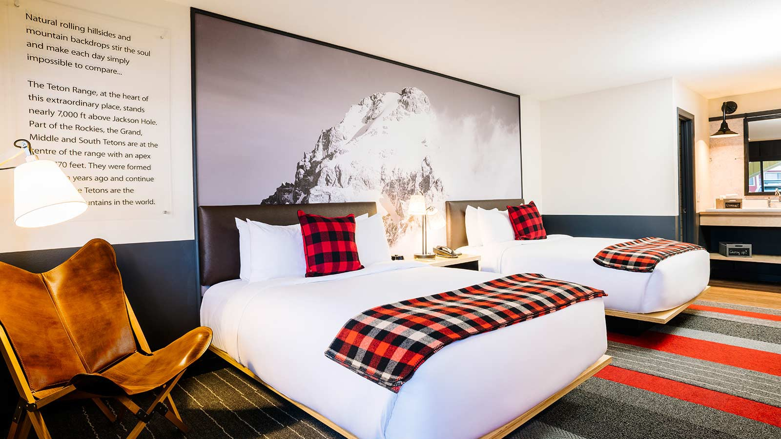 Mountain Modern Motel, Jackson Hole - QQ-Room