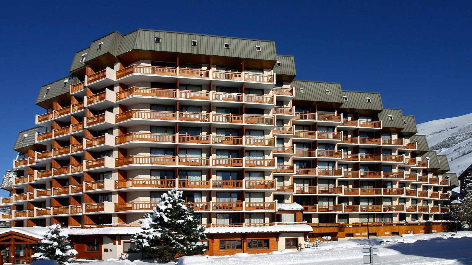 Multi-Residence 1605, Apartment in Les Deux Alpes - Exterior