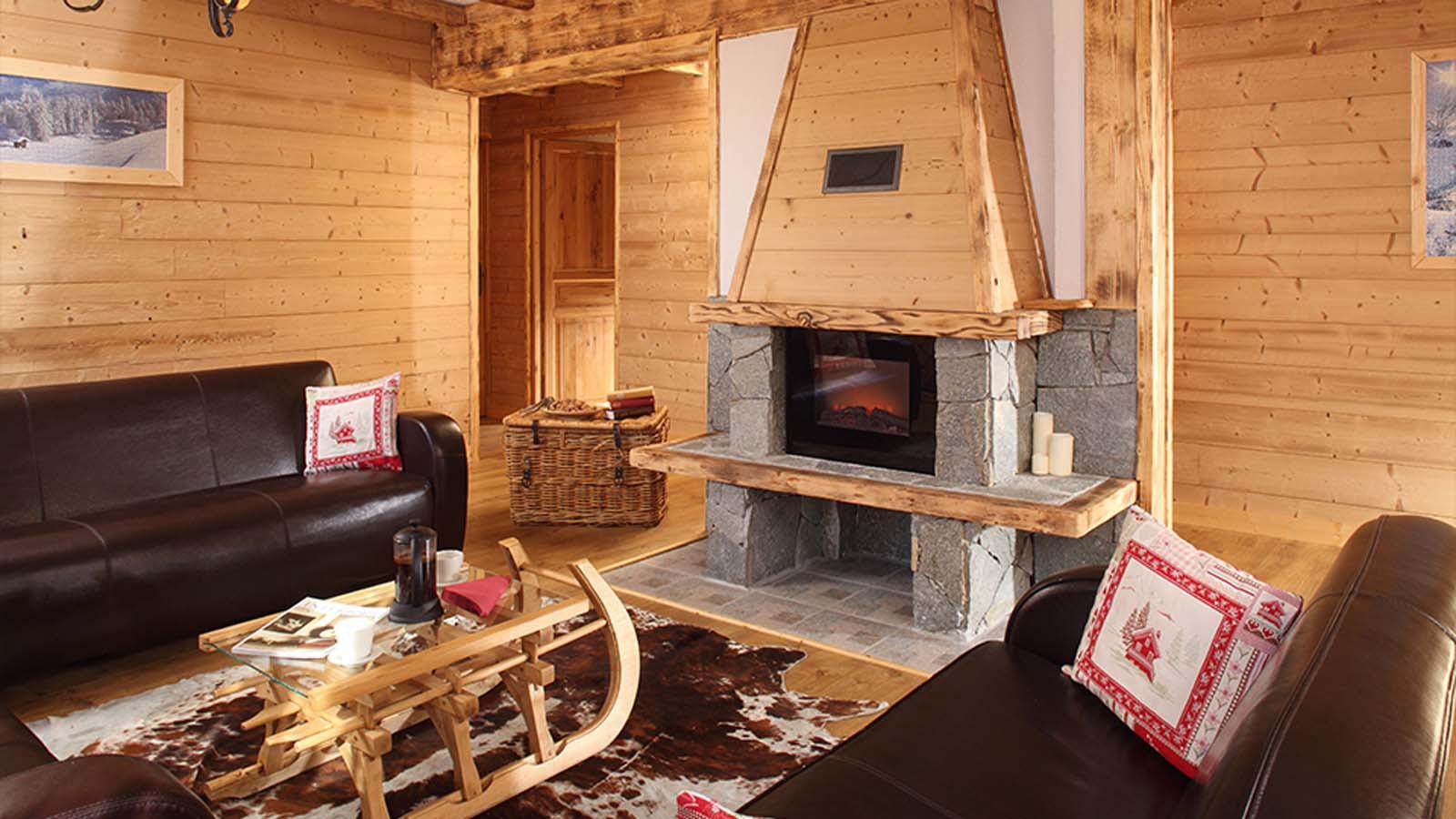 Lounge - Chalet Naomi, Alpe D'Huez, France