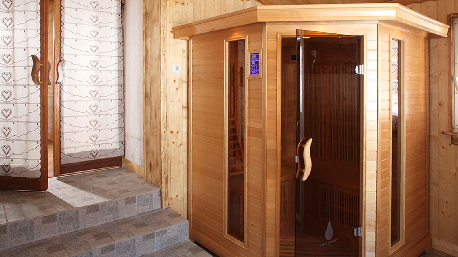 Sauna - Chalet Naomi, Alpe D'Huez, France