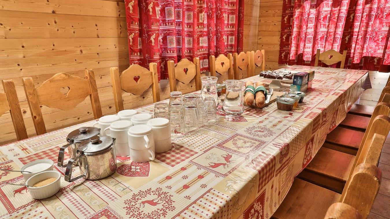Dining Area, Chalet Natalia I, Meribel Mottaret, France