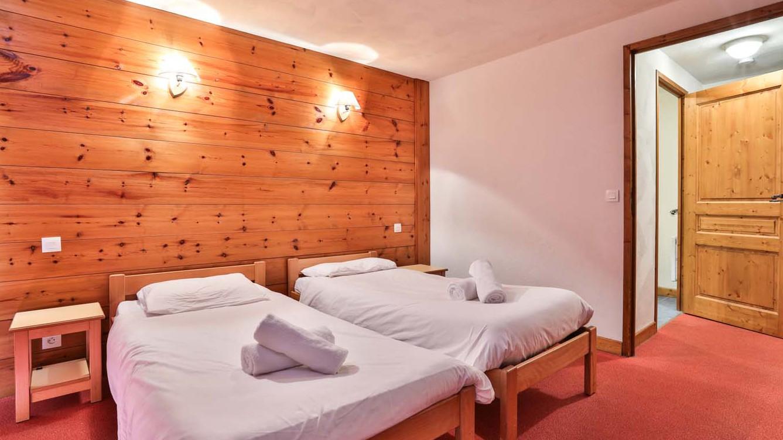 Twin Room, Chalet Natalia I, Meribel Mottaret, France