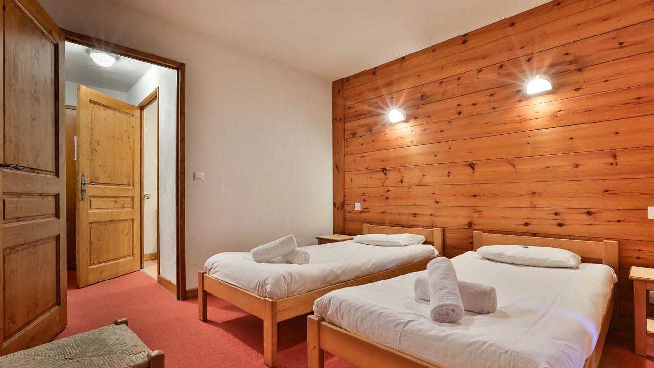 Twin Room, Chalet Natalia II, Meribel Mottaret, France