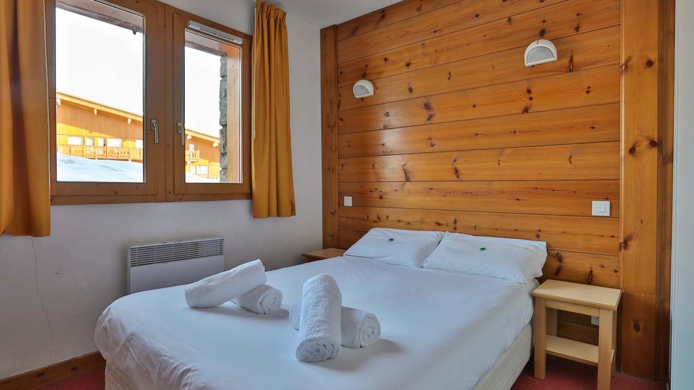 Double Bedroom, Chalet Natalia II, Meribel Mottaret, France