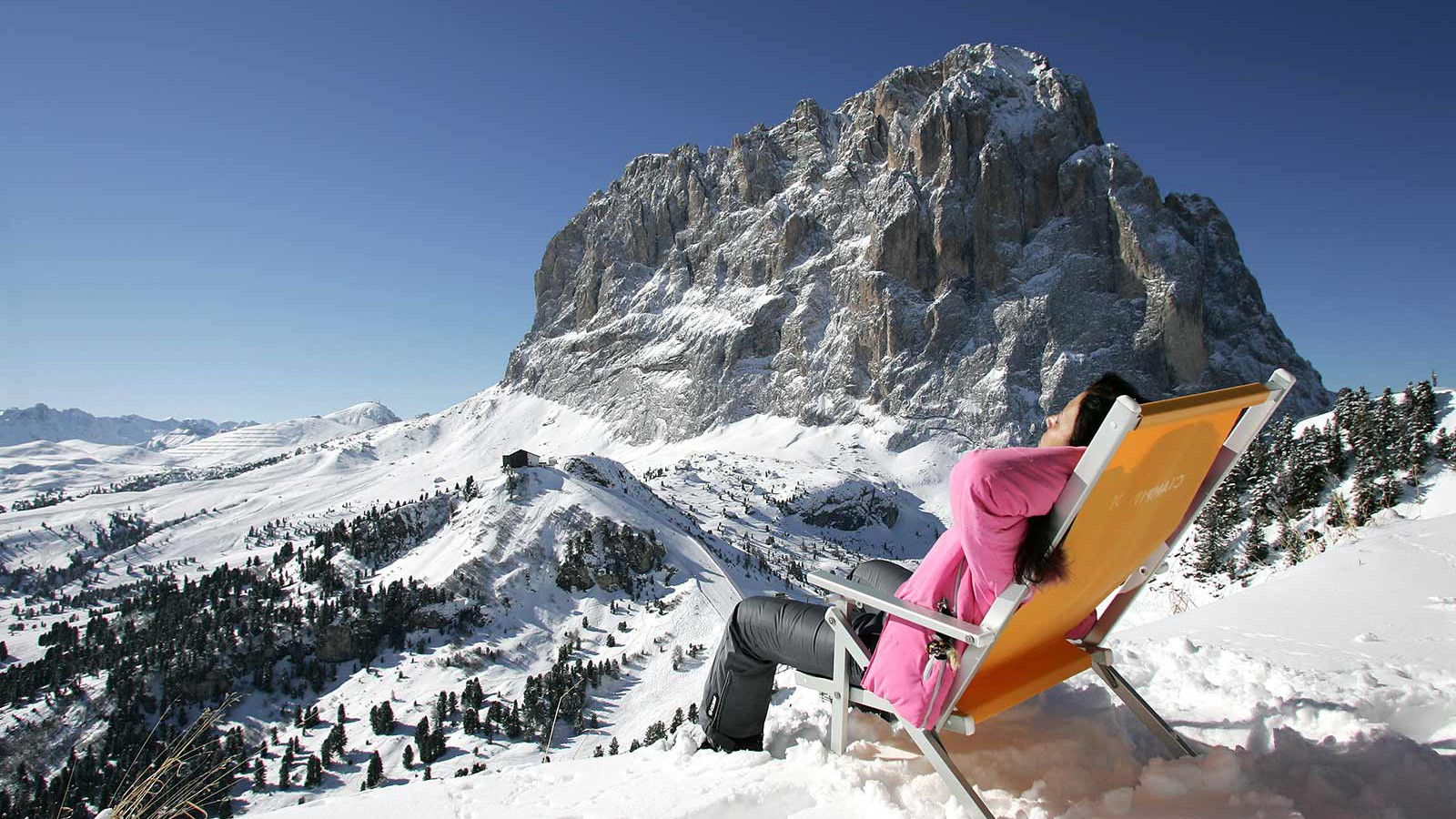 Ortisei Val Gardena - Enjoying the sun