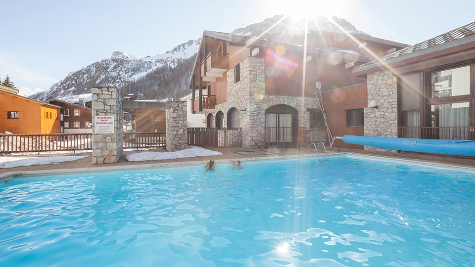 Outdoor Pool, Residence Les Chalets du Solaise, Val D'Isere