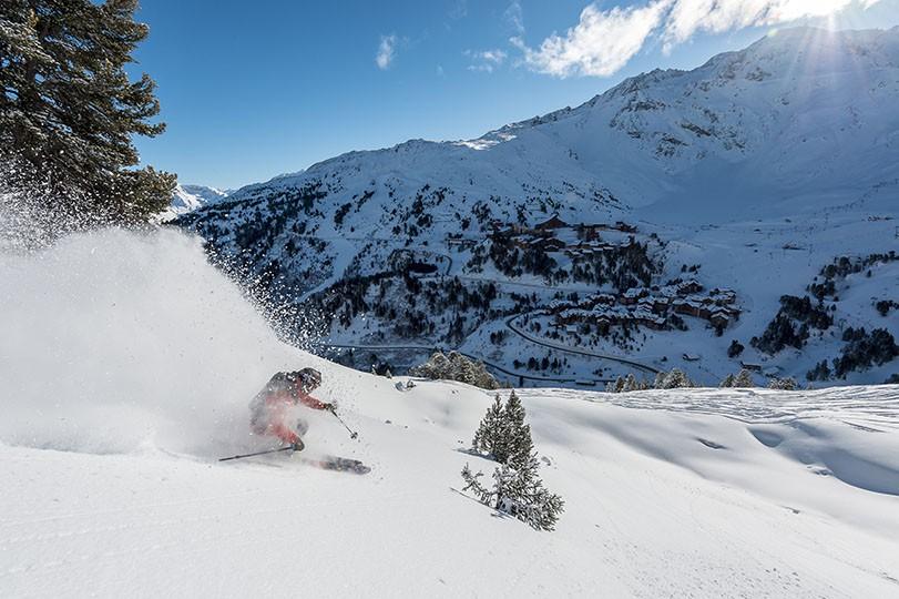 Paradiski - Les Arcs -  Ski Resort - TristanShu
