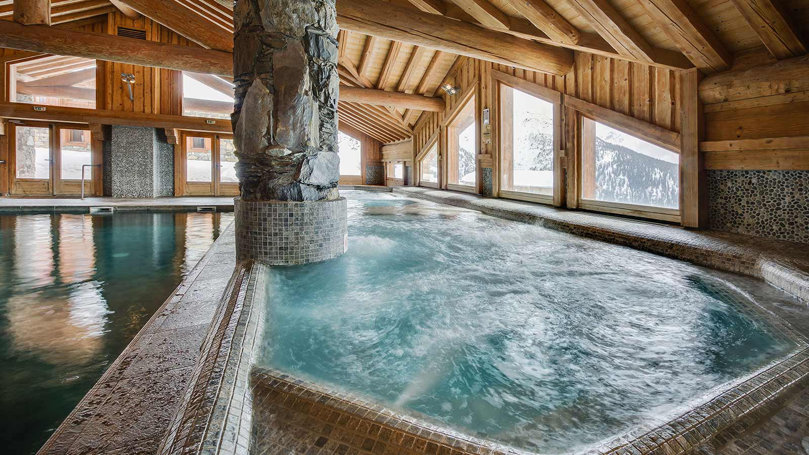 Pool and wellness - Les Cimes Blanches, La Rosiere, France