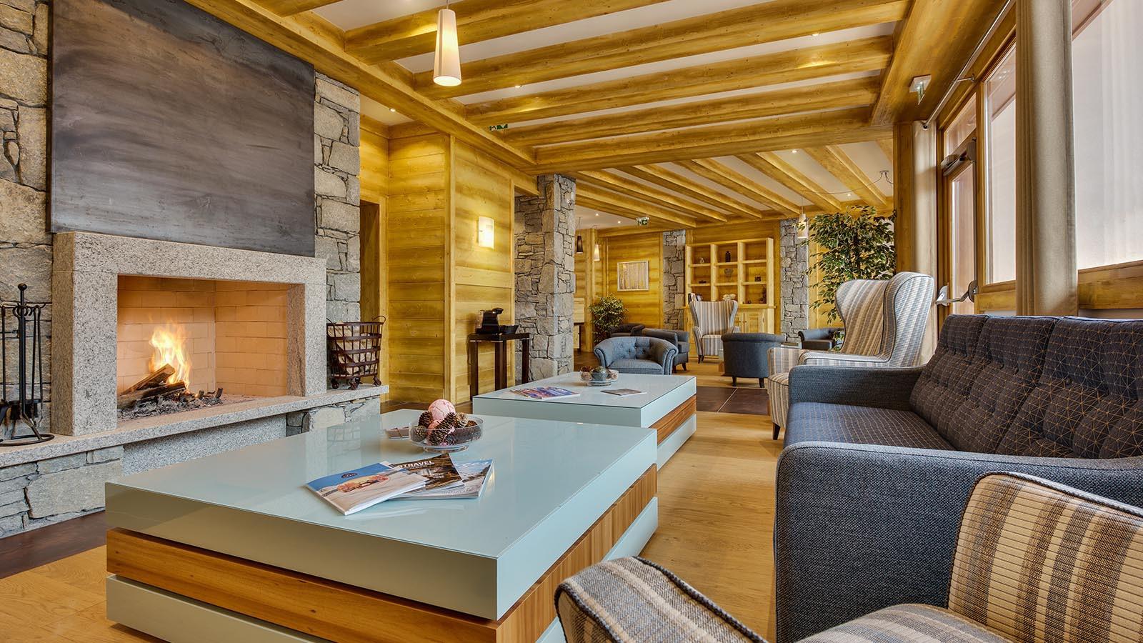 Public lounge at CGH Apartment Leana
