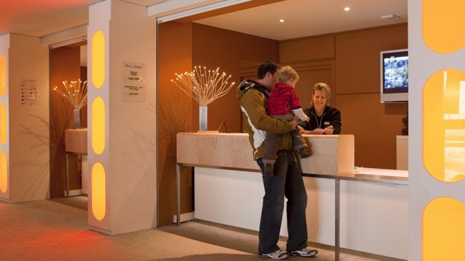 Reception, Residence La Foret, Flaine, France