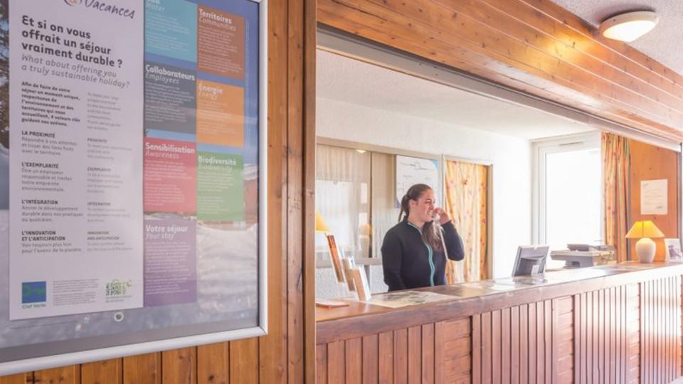Reception Area, Residence Les Horizons d'Huez, Alpe d'Huez, France