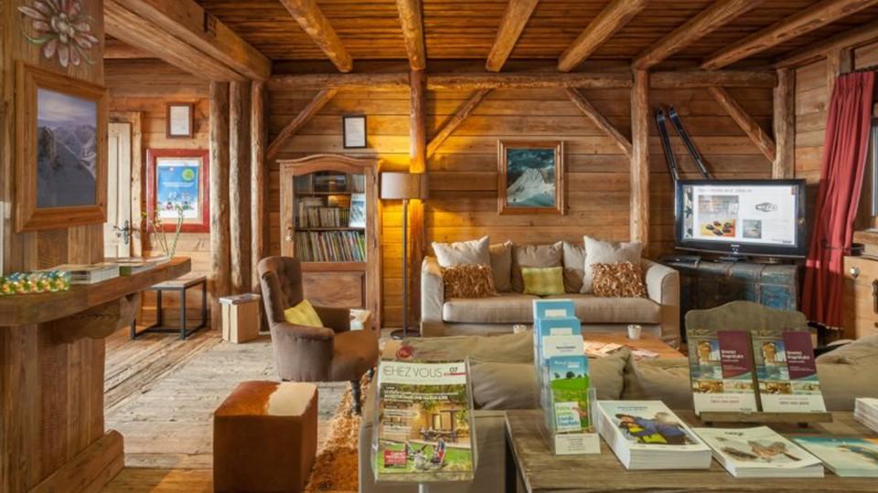 Reception Lounge, Residence L'Ecrin des Neiges, Tignes