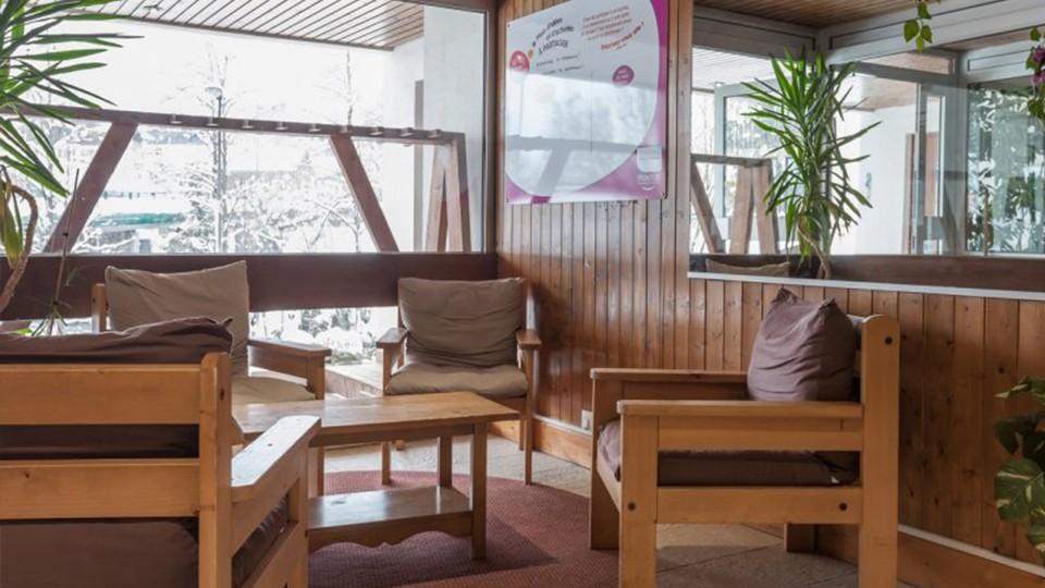 Reception Lounge, Residence La Rivere, Chamonix, France