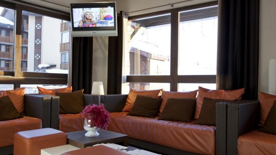 Reception Lounge, Residence Les Nereides, La Plagne, France