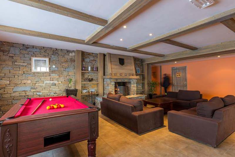 Reception Lounge, Residence Le Sun Valley - Self-Catered Ski Apartments in La Plagne, France