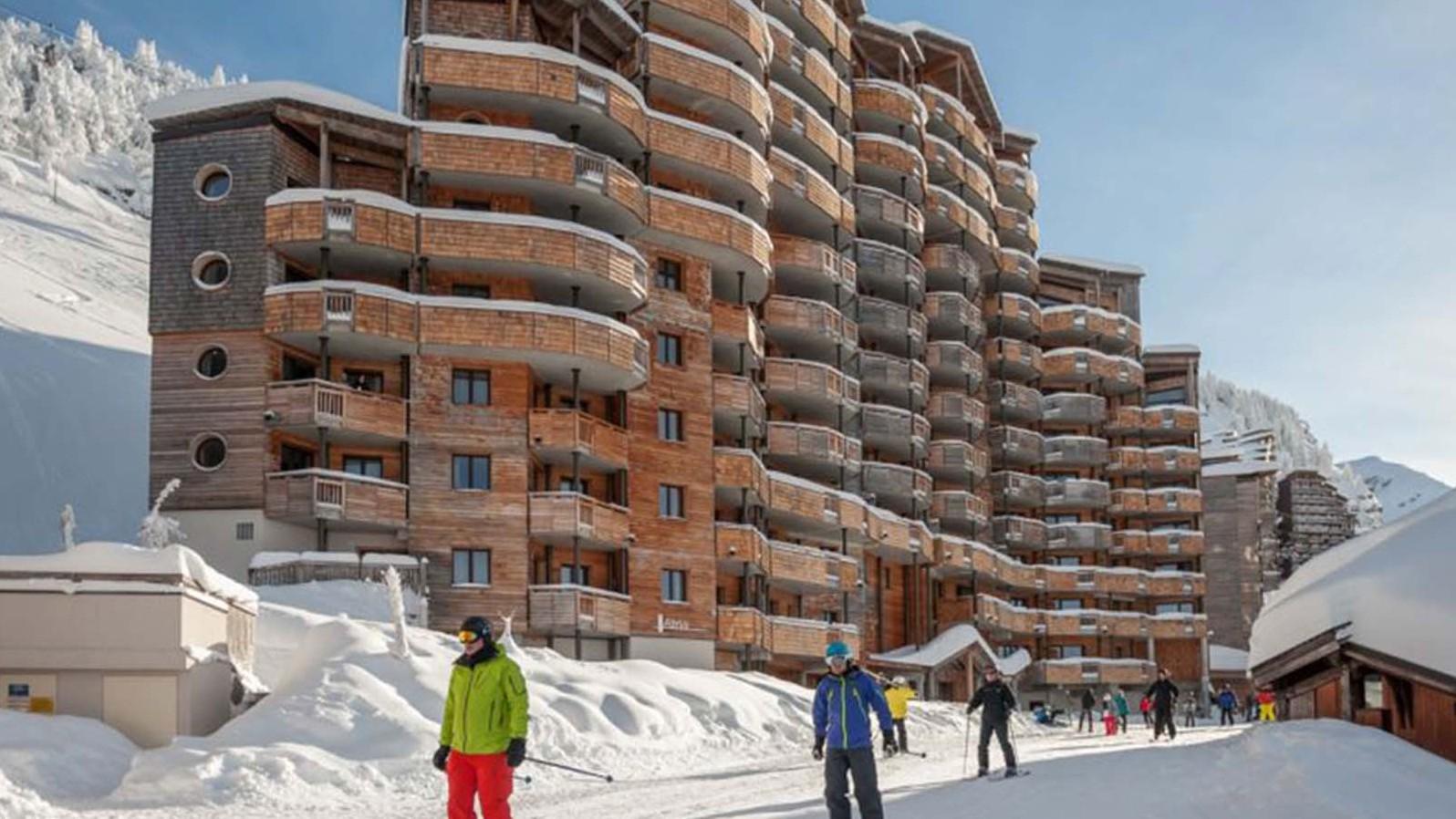 Avoriaz ski resort, France