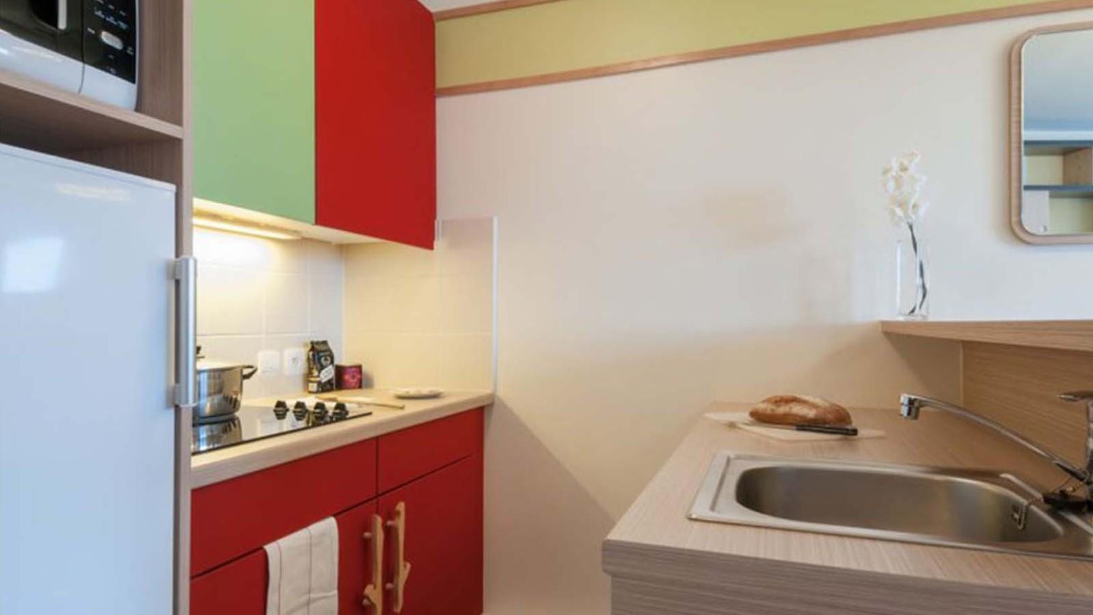Kitchenette, Residence Electra, Avoriaz, France