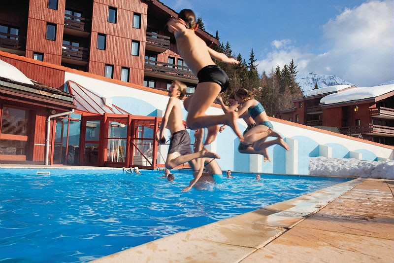 Residence Les Plagne Lauze Apartments ext pool, La Plagne