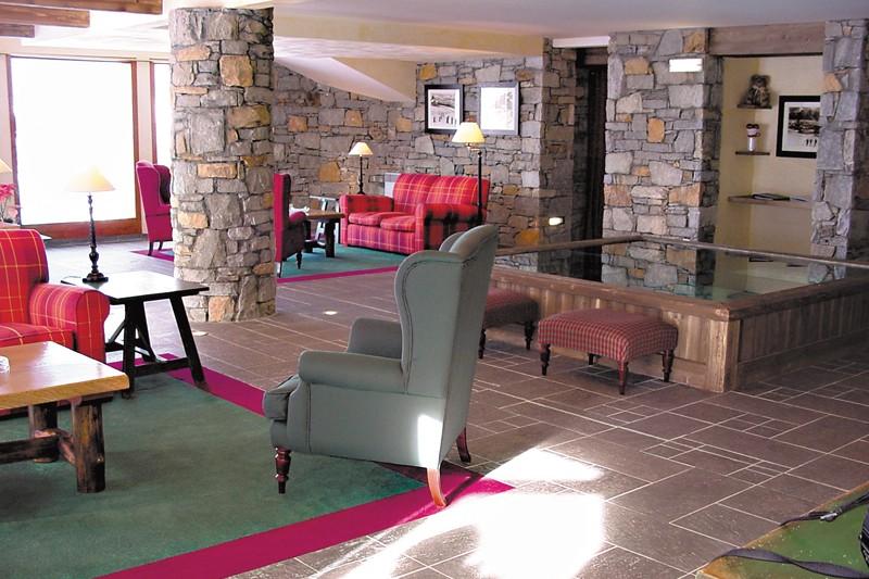 Residence Aspen lobby, La Plagne