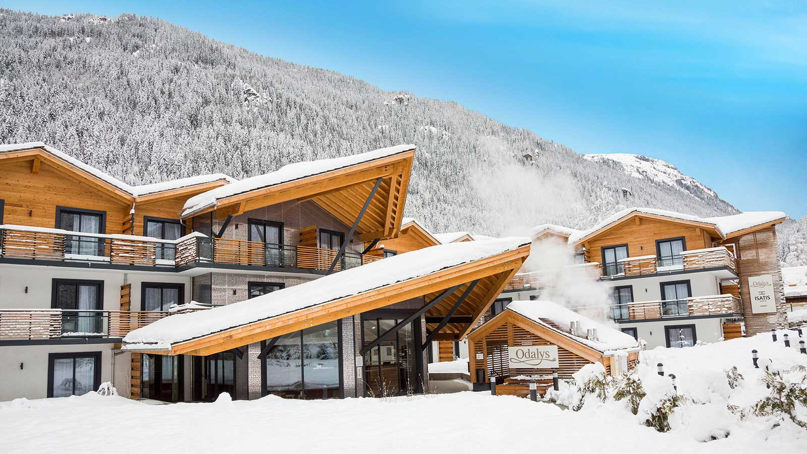 Residence Isatis - Self-catered apartment-chamonix-residence - exterior