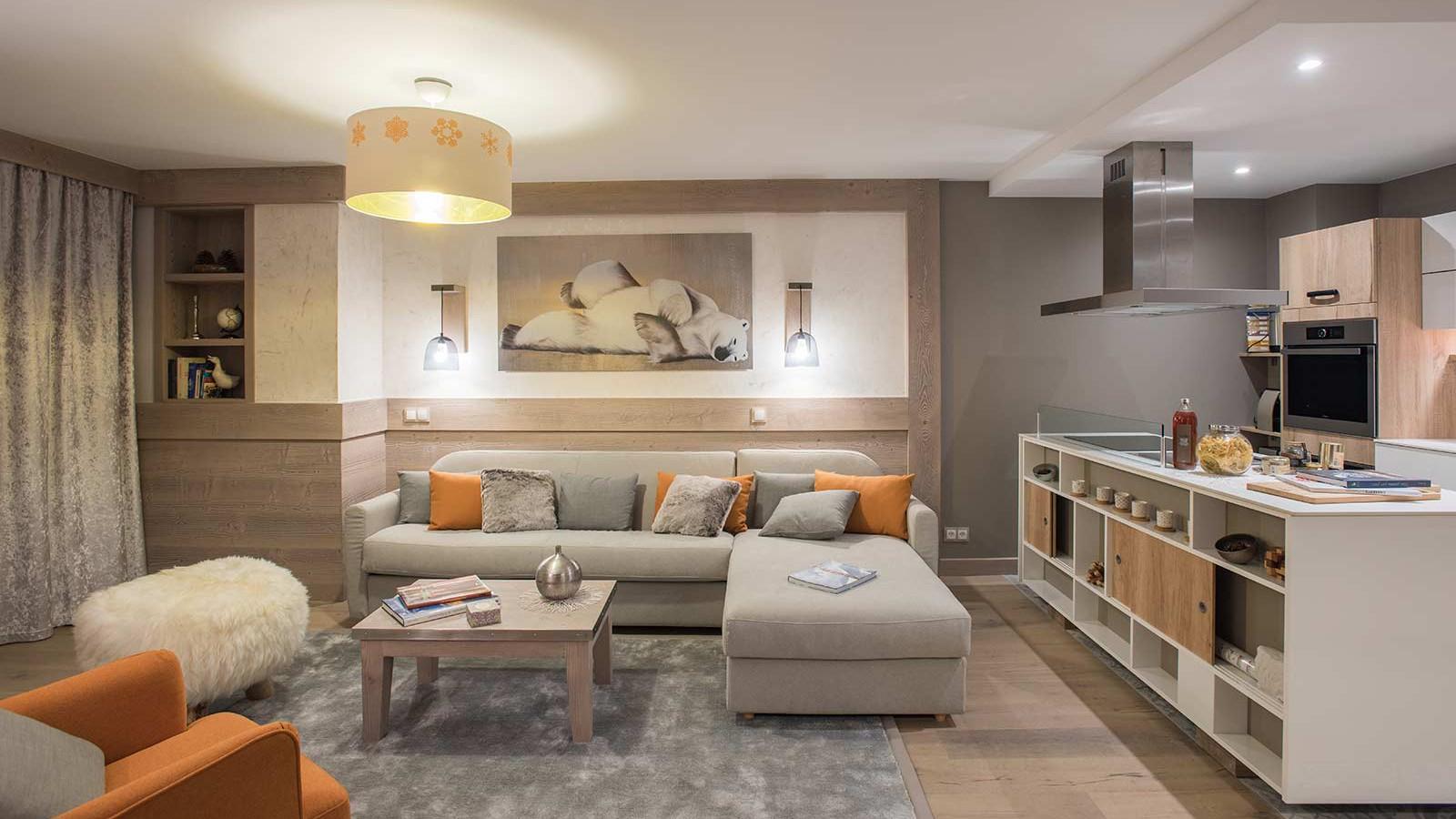 l'Hevana luxury ski apartments, Meribel, France