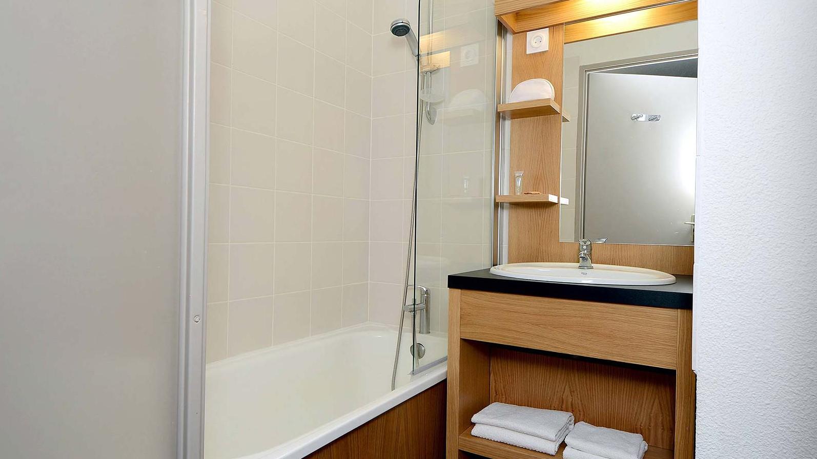 Residence Le Cervin, La Plagne, bathroom