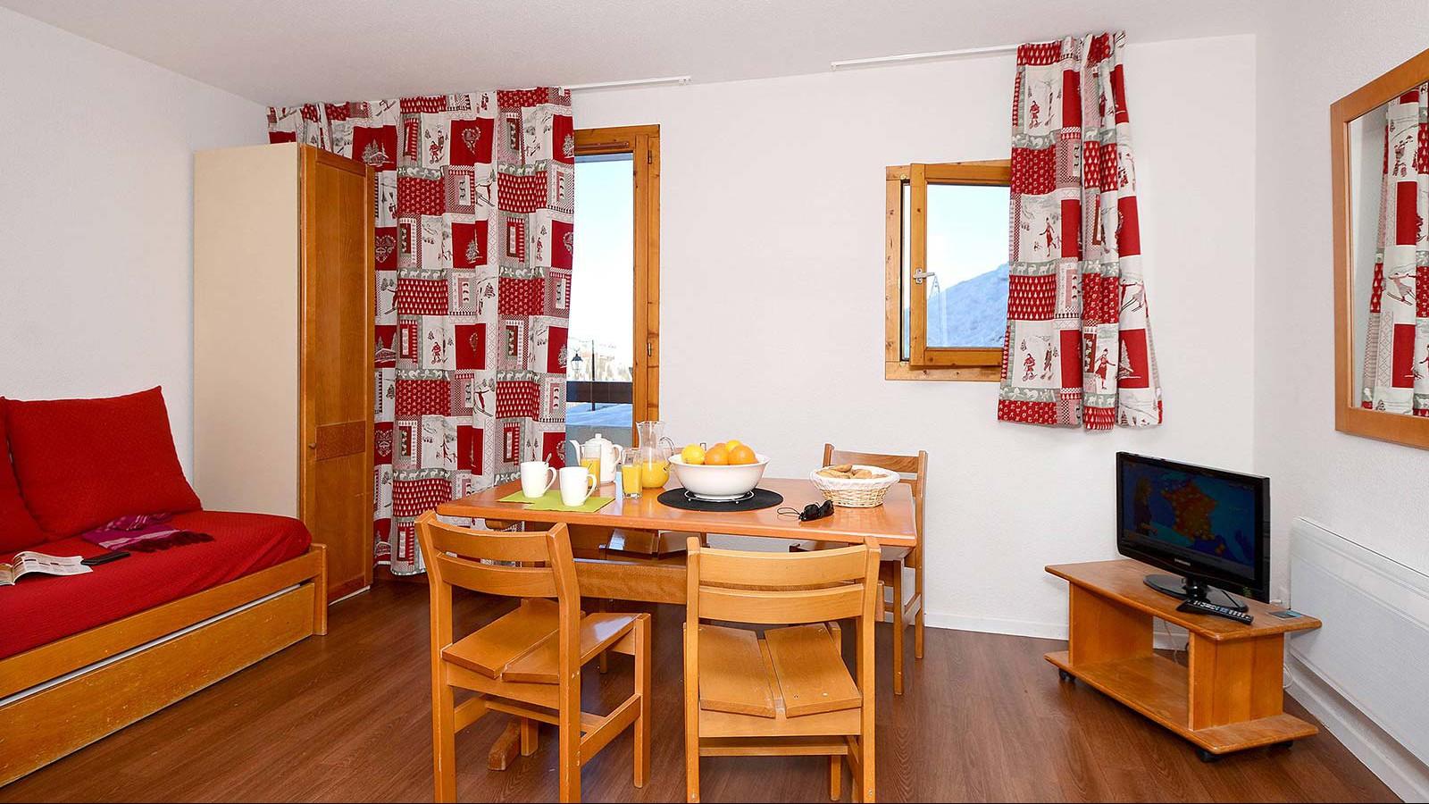 Residence Le Cervin, La Plagne, rooms