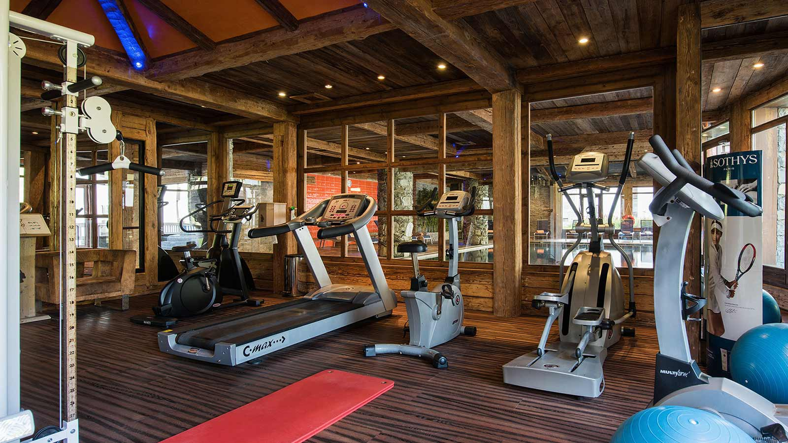 Residence Le Nevada fitness, Tignes