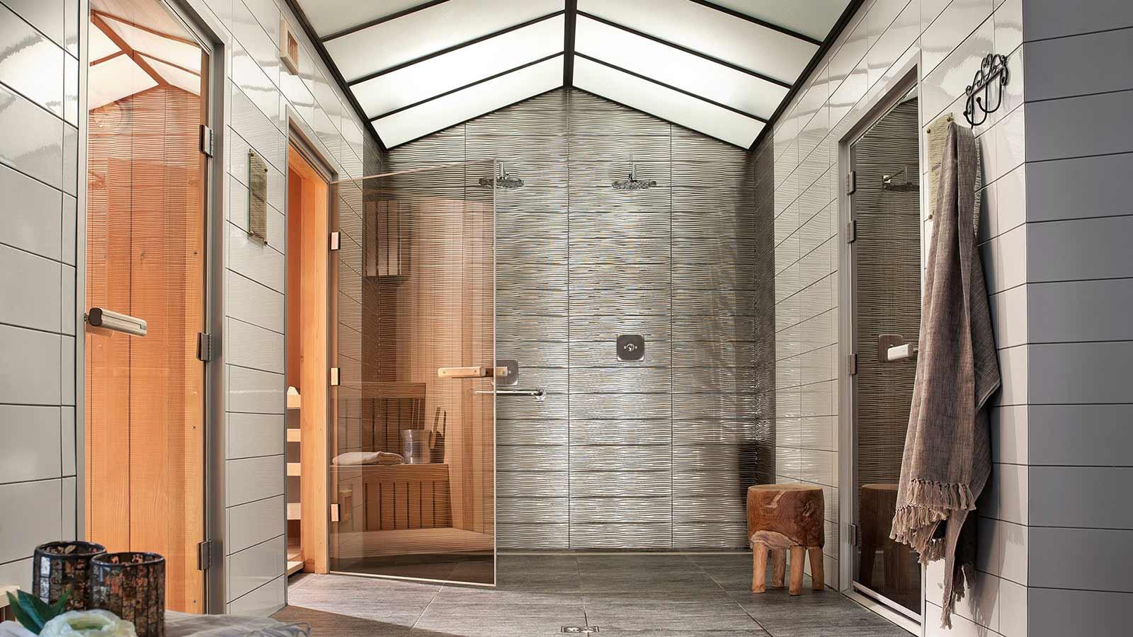 Saunas, Le Telemark, Tignes, France