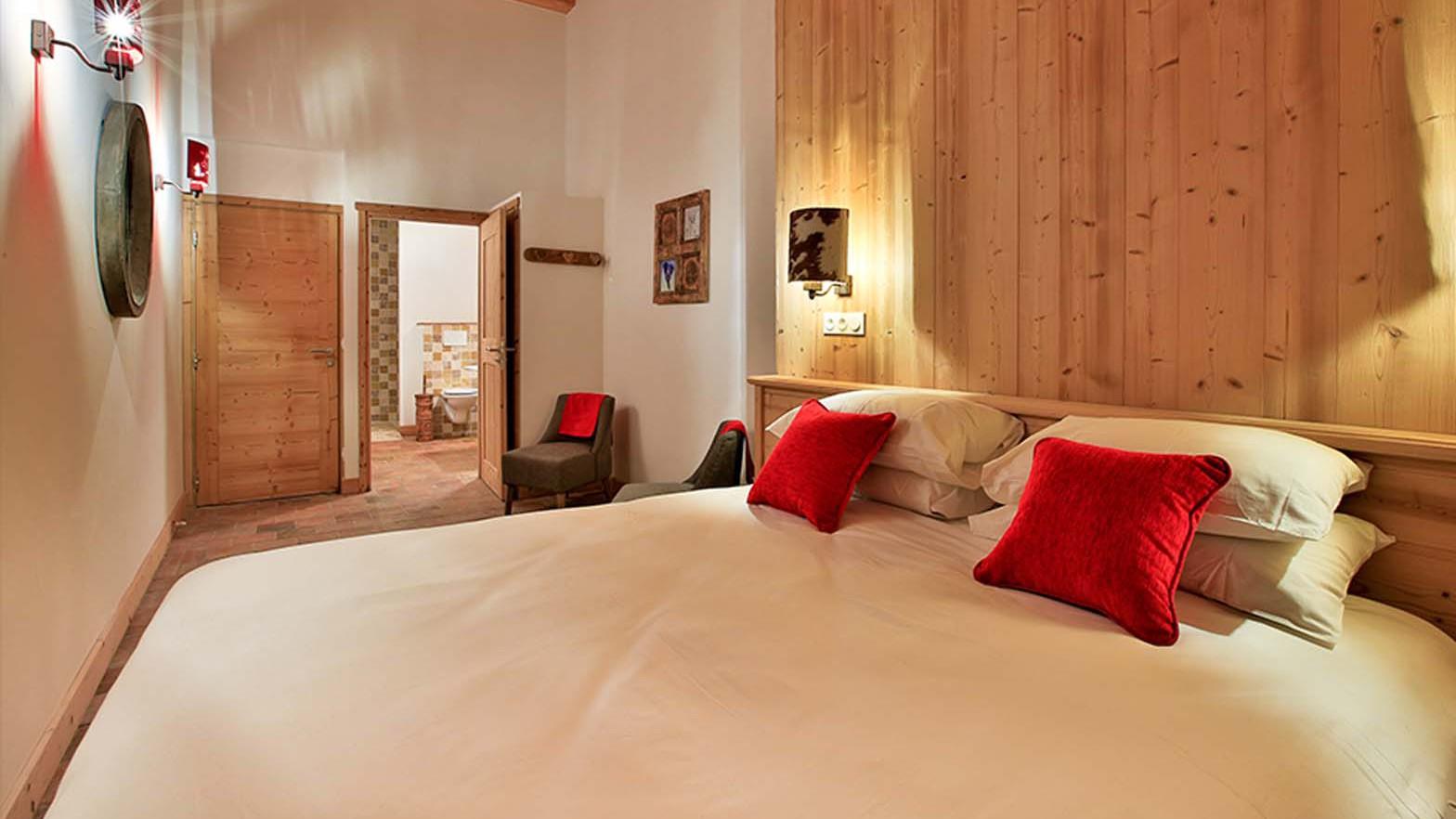 Bedroom, Chalet Silene, La Plagne, France
