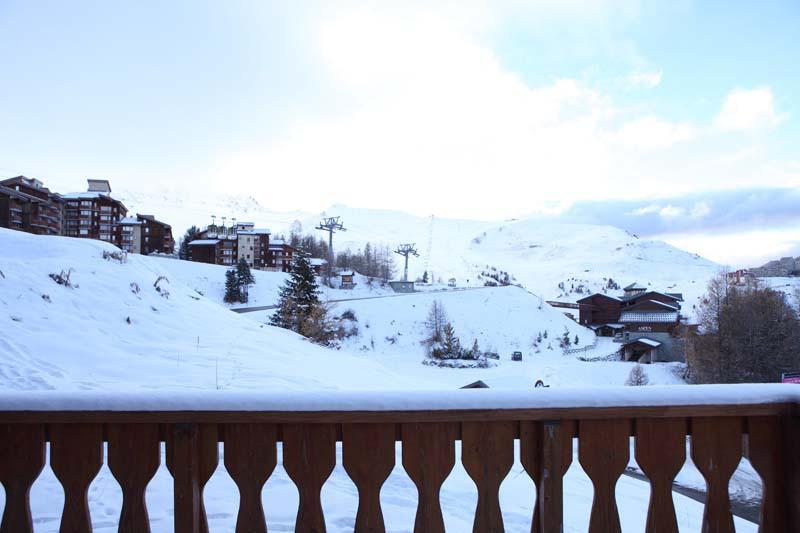 Balcony in Chalet Panoramique - Ski Chalet in La Plagne, France
