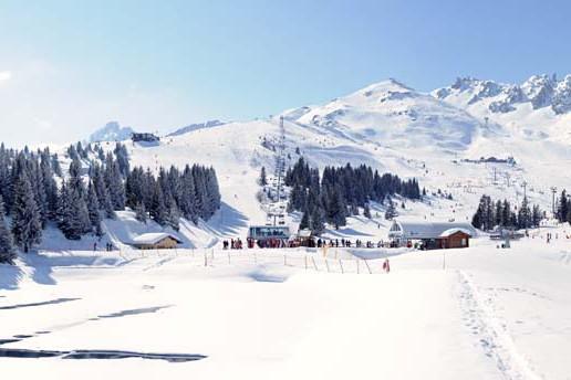Ski Area, Courchevel, France; David Andre