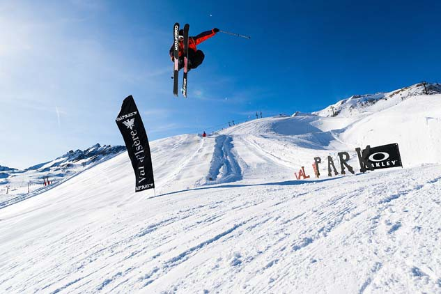Snowpark, Val d'Isere, France