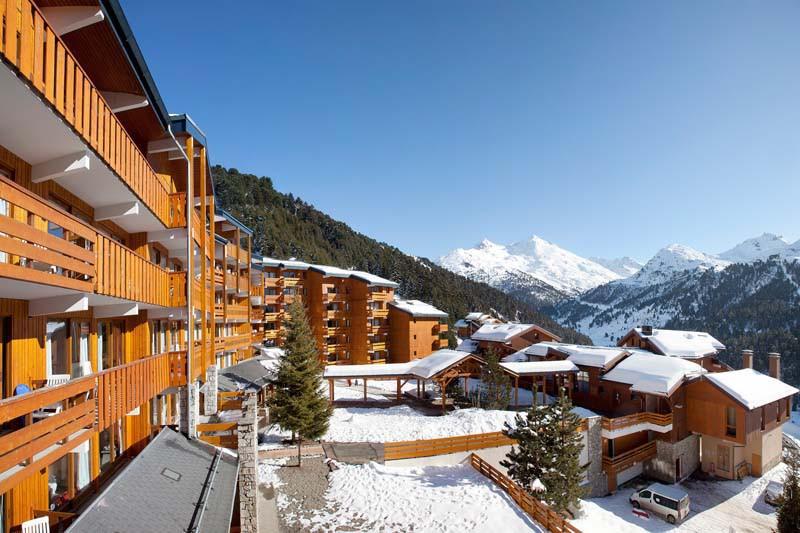 Exterior of Les Fermes de Meribel - ski chalet in Meribel, France