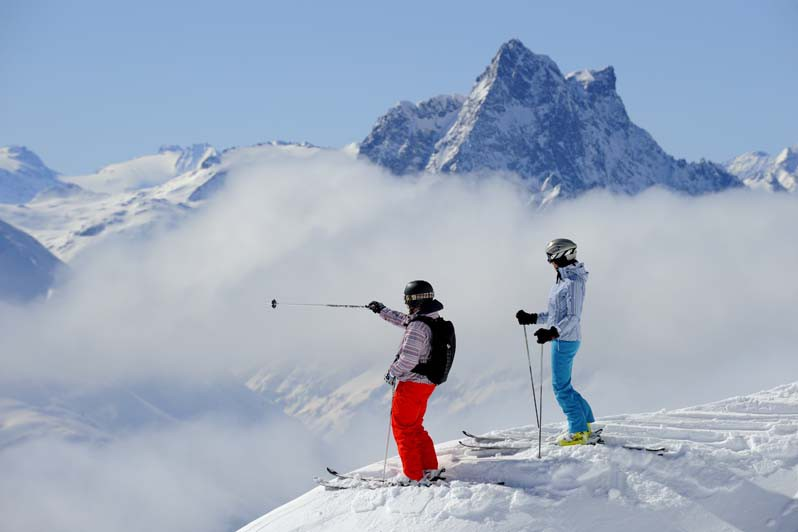 St Anton Above the Clouds
