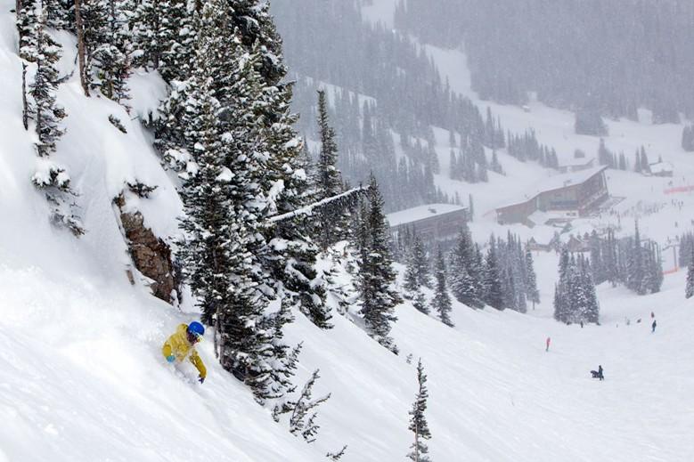 Sunshine Mountain Lodge Banff Canada Skiworld