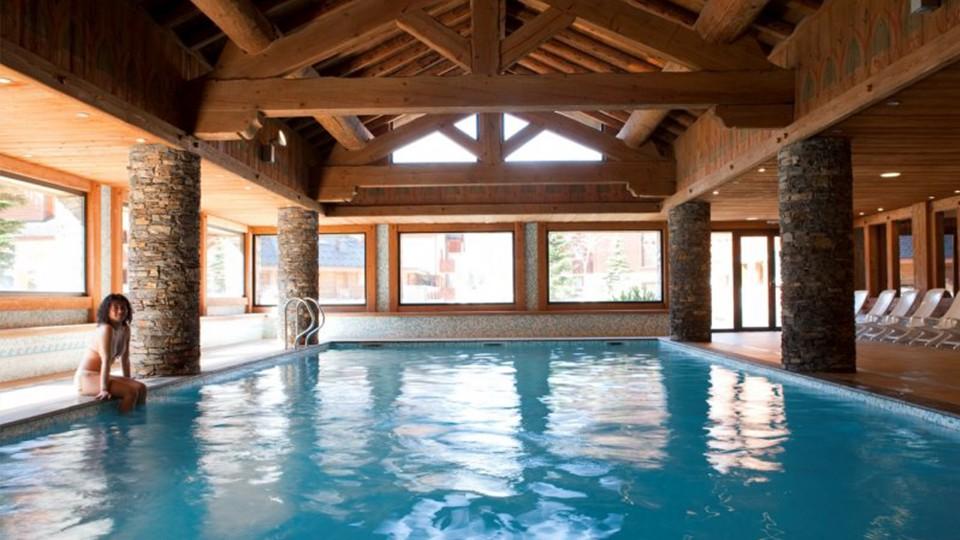 Swimming Pool, Residence Les Fermes du Soleil, Flaine, France