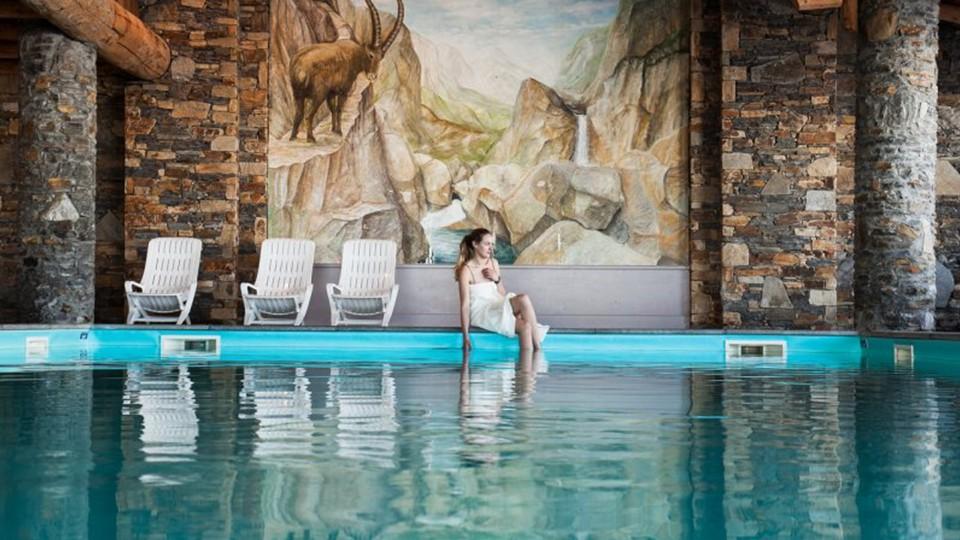Swimming Pool, Residence Les Hauts Bois, La Plagne, France